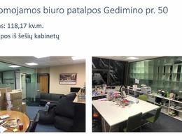 Nuomojamos patalpos Gedimino pr., Naujamiestyje, Vilniuje, 118 kv.m ploto [..]