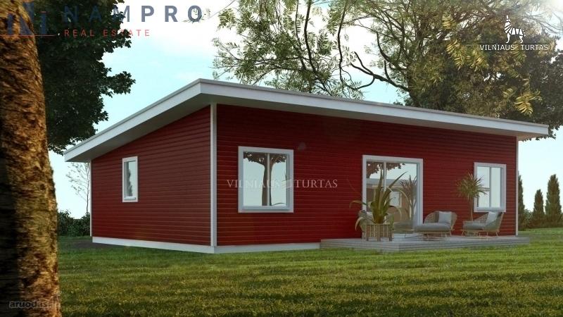 Parduodamas namas Trakų Vokėje, Vilniuje, 79 kv.m ploto, 0 aukštai
