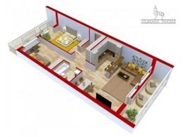 Parduodamas butas Leičių g., Pašilaičiuose, Vilniuje, 82 kv.m ploto, 3 kambariai