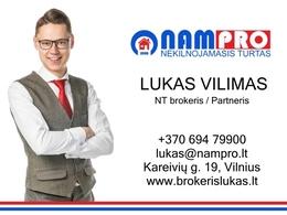 Parduodamas butas Sporto g., Žirmūnuose, Vilniuje, 78.03 kv.m ploto, 3 kambariai