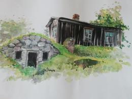 Parduodamas sklypas Burbiškio k., 130 a ploto