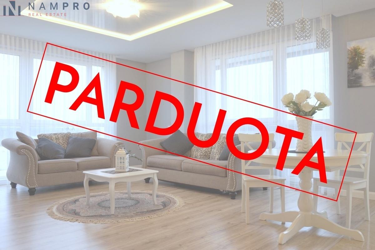 Parduodamas butas Karaliaučiaus g., Pilaitėje, Vilniuje, 80 kv.m ploto, 3 kambariai
