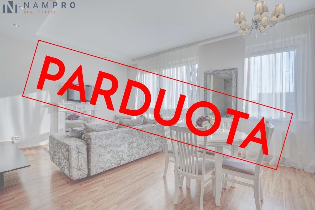 Parduodamas butas Salomėjos Nėries g., Fabijoniškėse, Vilniuje, 43.16 kv.m ploto, 2 kambariai