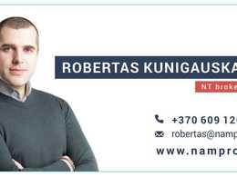 Parduodamas butas A. Stulginskio g., Vilijampolėje, Kaune, 18 kv.m ploto, 1 kambariai