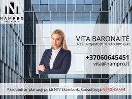 Parduodamas sklypas E. Volterio g., Romainiuose, Kaune, 8 a ploto