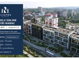 Parduodamas butas Kernavės g., Šnipiškėse, Vilniuje, 75.5 kv.m ploto, 4 kambariai