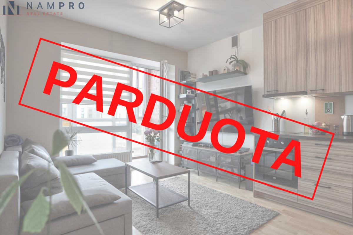 Parduodamas butas Sviliškių g., Pašilaičiuose, Vilniuje, 39.07 kv.m ploto, 2 kambariai