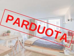 Parduodamas butas Žvėryne, Vilniuje, 17.49 kv.m ploto, 1 kambariai