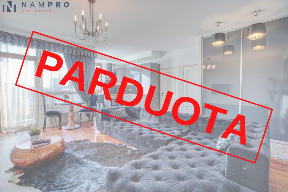 Parduodamas butas Žvėryne, Vilniuje, 48.05 kv.m ploto, 2 kambariai