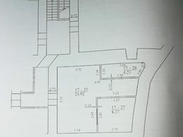 Parduodamos ir nuomojamos patalpos M. Daukšos g., Senamiestyje, Vilniuje, 38.34 kv.m ploto