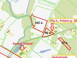 Parduodamas sklypas Pušyno g.  18, Ylių k., 240 a ploto