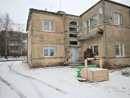Parduodamas butas Vilniaus g. 109, Raseiniuose, 33.49 kv.m ploto, 2 kambariai