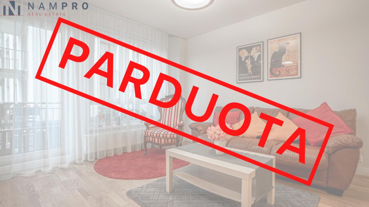 Parduodamas butas Mindaugo g. 27, Naujamiestyje, Vilniuje, 54.54 kv.m ploto, 2 kambariai