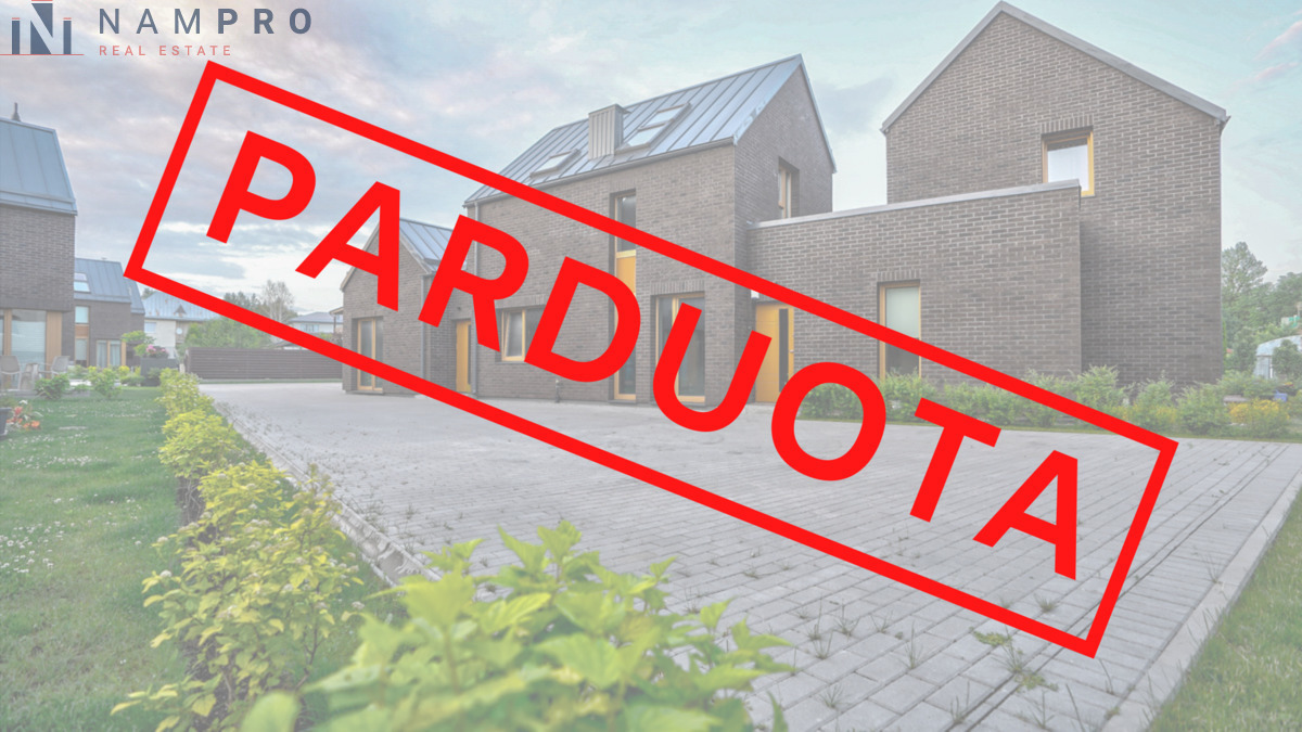 Parduodamas namas Tolimosios Sodų 4-oji g., Pavilnyje, Vilniuje, 86.79 kv.m ploto, 2 aukštai