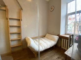 Parduodamas butas Polocko g. 4, Užupyje, Vilniuje, 15 kv.m ploto, 1 kambariai
