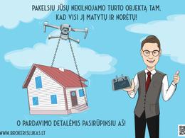 Parduodamas butas Pašilaičių g. 17, Pašilaičiuose, Vilniuje, 67.27 kv.m ploto, 3 kambariai