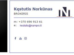 Nuomojamas butas Prancūzų gt. 6, Aukštuosiuose Šančiuose, Kaune, 39 kv.m ploto, 2 kambariai