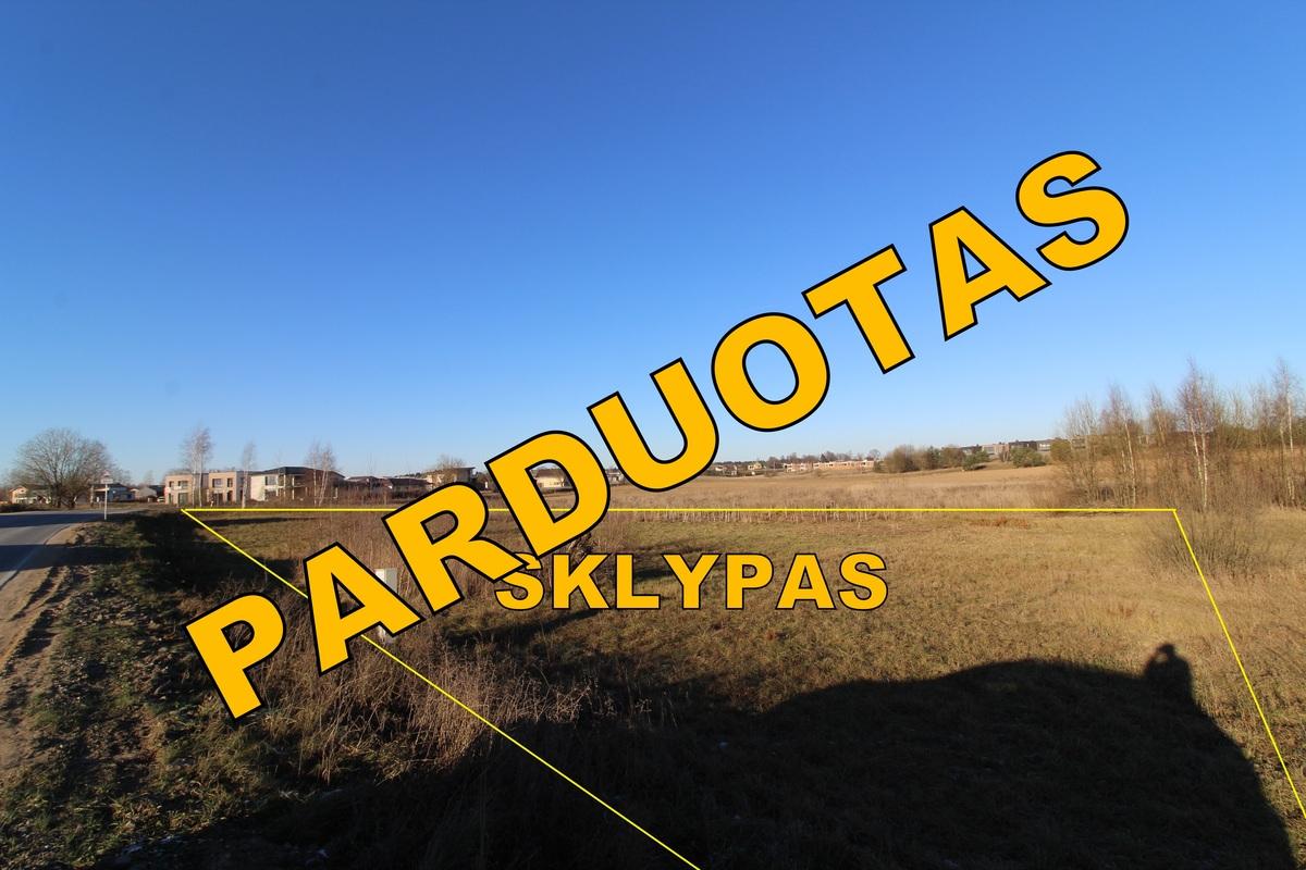 Parduodamas komercinės paskirties sklypas Zujūnų g., Pilaitėje, Vilniaus m., 14,23 a ploto - <strong>51 000 €