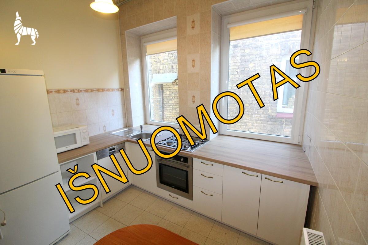 Nuomojamas butas Naugarduko g., Naujamiestyje, Vilniuje, 108 kv.m ploto, 4 kambariai - <strong>600 €