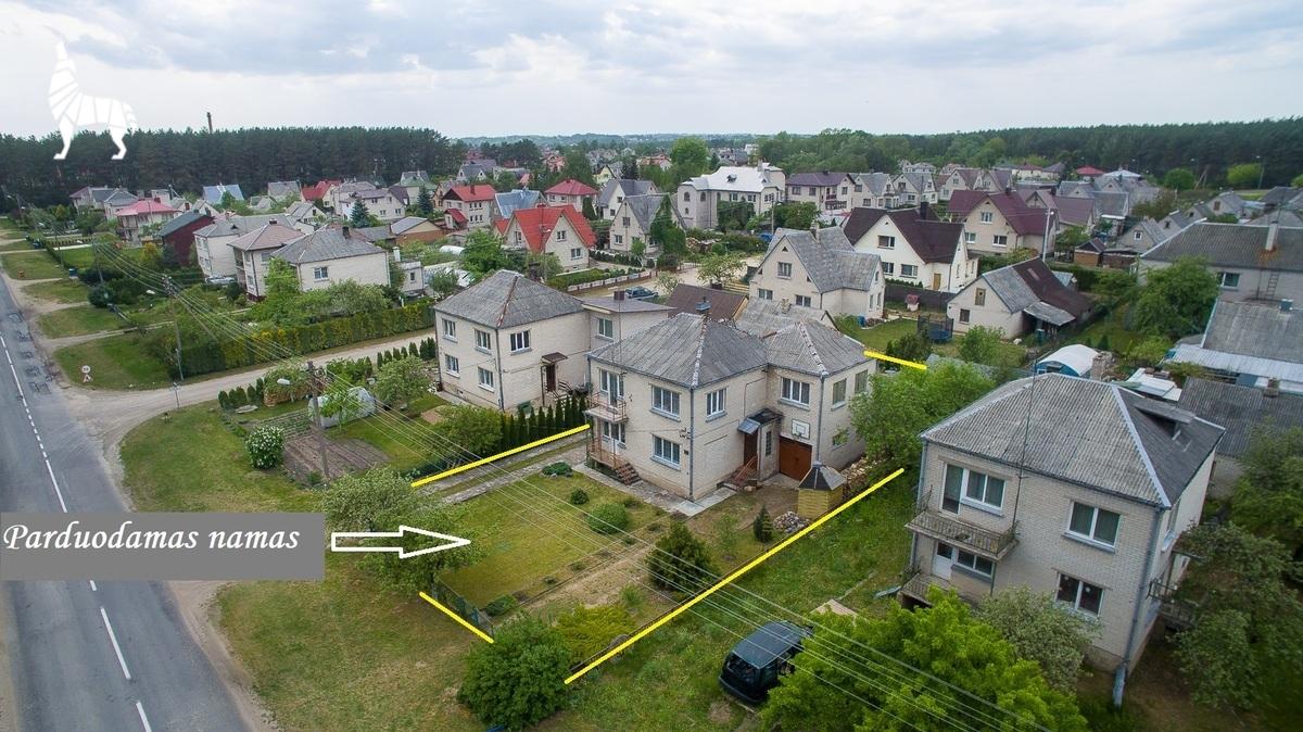 Parduodamas namas Ąžuolų g. 60, Ukmergėje, 141.06 kv.m ploto, 2 aukštai - <strong></noscript><img class=