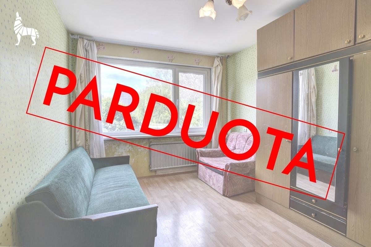 Parduodamas butas Erfurto g., Lazdynuose, Vilniuje, 46.76 kv.m ploto, 2 kambariai - <strong>53 000 €