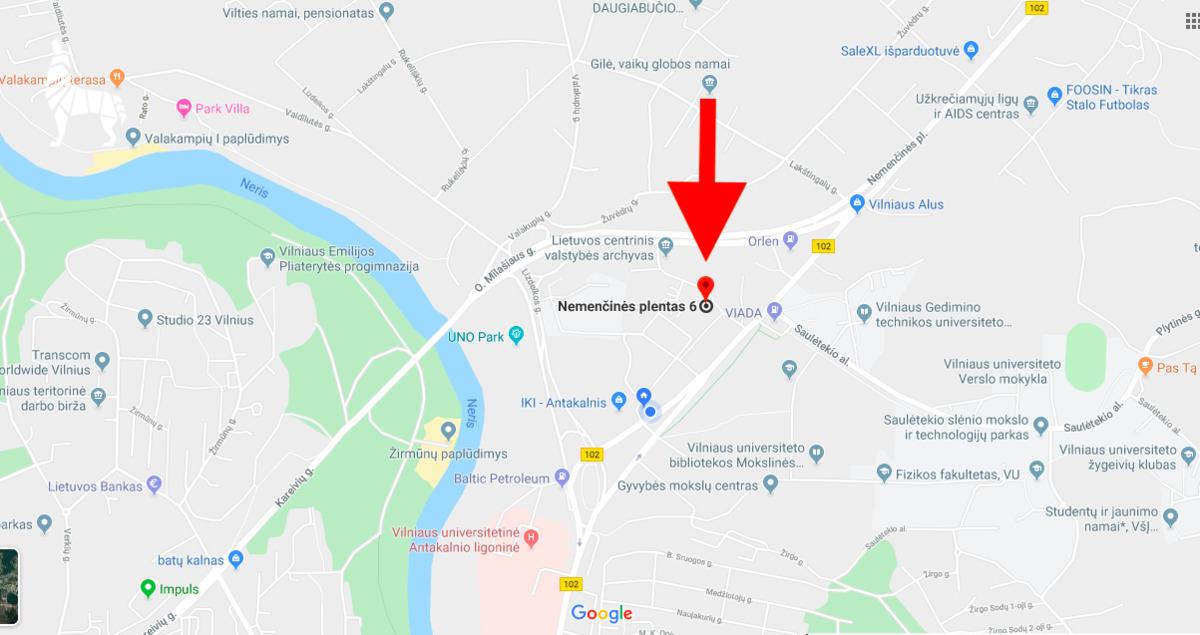 Kotedžas labai geroje vietoje, ANTAKALNYJE, su nuosavu 3,75 arų kiemu! Nemenčinės pl. 6,  Vilniuje. - <strong>175 000 €