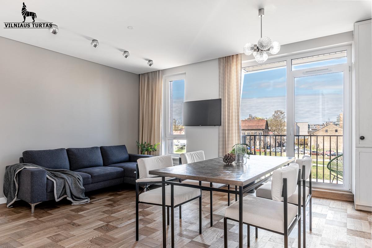 Parduodamas butas Mindaugo g. 27, Naujamiestyje, Vilniuje, 66.03 kv.m ploto, 3 kambariai - <strong>199 000 €