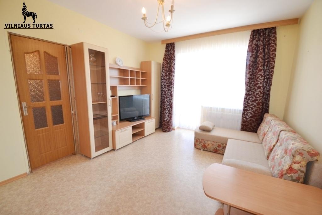Nuomojamas butas Karaliaučiaus g. 15, Pilaitėje, Vilniuje, 35 kv.m ploto, 1 kambariai - <strong></noscript><img class=