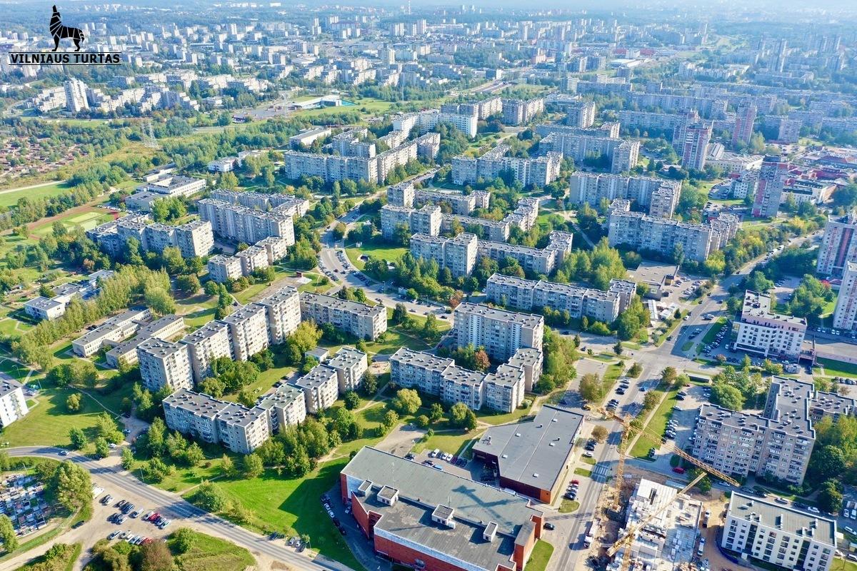 Parduodamas naujas ir mažas butas Rygos g. 46 Justiniškėse, Vilniuje, 28.09 kv.m ploto, PUIKI INVESTICIJA - <strong></noscript><img class=