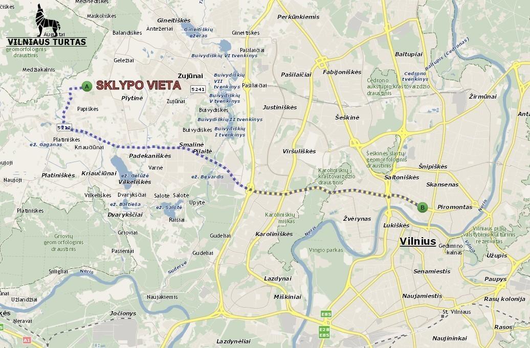 Parduodamas sklypas Balandžių g., Pilaitėje, Vilniuje, 13 a ploto - <strong></noscript><img class=
