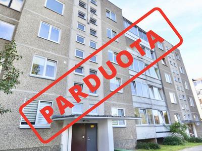 Parduodamas butas V. Ruokio g., Kaišiadoryse, 58 kv.m ploto, 3 kambariai