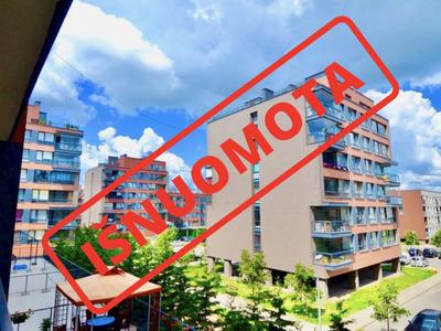 Nuomojamas butas M. Mažvydo g. 9, Pilaitėje, Vilniuje, 72 kv.m ploto, 2 kambariai