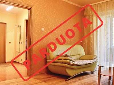 Parduodamas butas V. Ruokio g. 3, Kaišiadoryse, 59 kv.m ploto, 3 kambariai