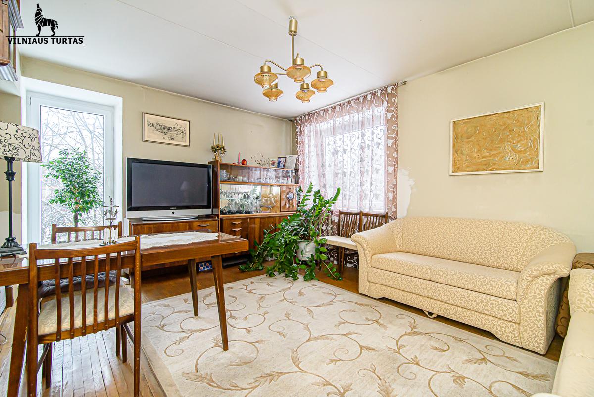 Parduodamas butas Traidenio g., Žvėryne, Vilniuje, 126 kv.m ploto, 4 kambariai - <strong></noscript><img class=