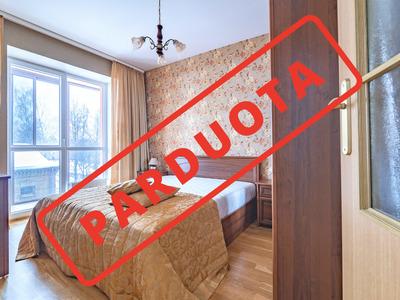 Parduodamas butas S. Žukausko g. 4, Šiaurės miestelyje, Vilniuje, 50.91 kv.m ploto, 2 kambariai