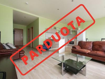 Parduodamas butas Vytenio g. 54, Naujamiestyje, Vilniuje, 54 kv.m ploto, 2 kambariai