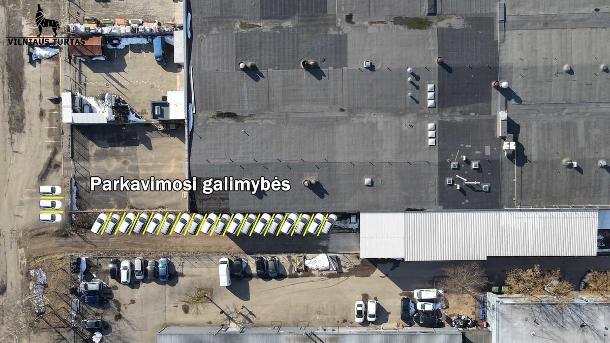 Nuomojamos patalpos Dariaus ir Girėno g. 149, Naujininkuose, Vilniuje, 1280 kv.m ploto - <strong></noscript><img class=