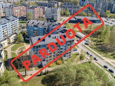 Parduodamas butas Ukmergės g. 306A, Pašilaičiuose, Vilniuje, 78.44 kv.m ploto, 3 kambariai